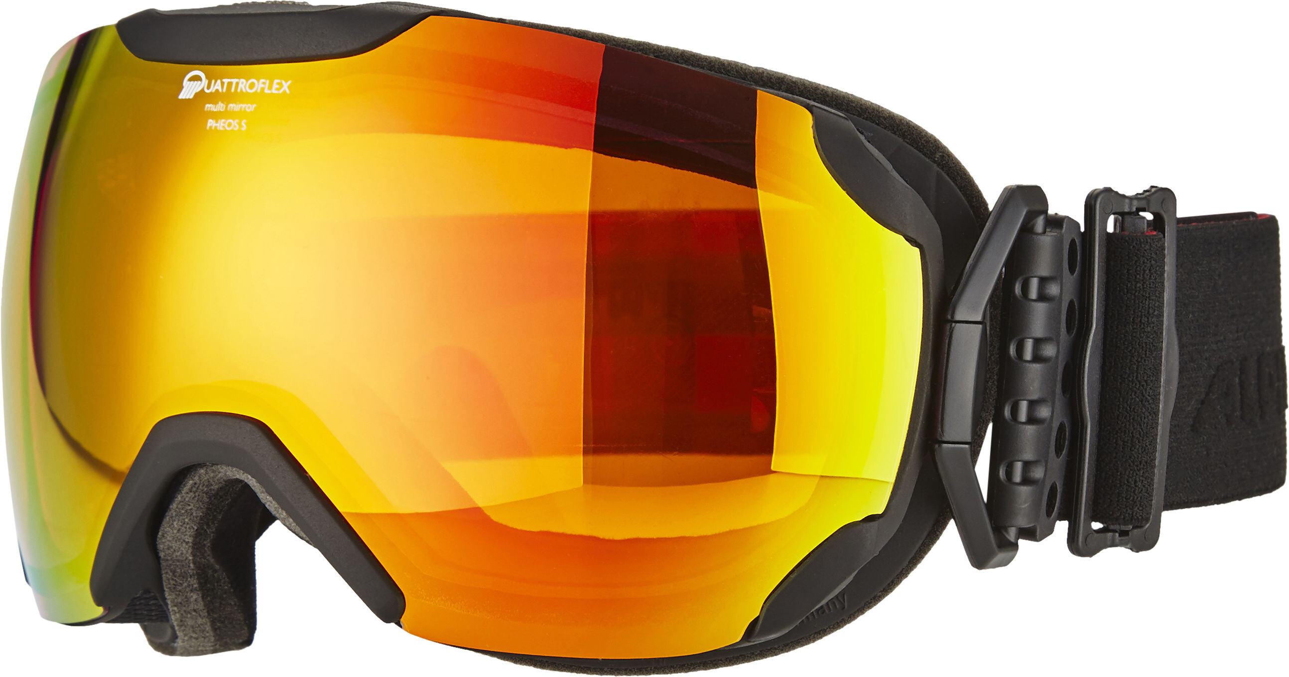Alpina Pheos S QMM SPH Goggles S Redblack At Addnaturecouk - Alpina goggles